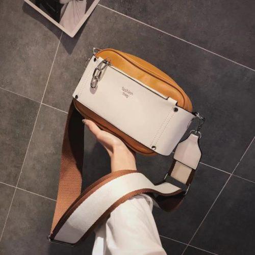 JT07649-brown Tas Selempang Fashion Stylish Wanita Cantik