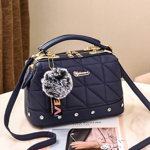 JT07813 IDR.178.000  MATERIAL PU SIZE L24.5XH16X13CM WEIGHT 650GR COLOR BLUE