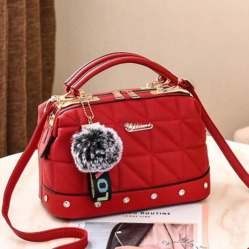 JT07813 IDR.178.000 MATERIAL PU SIZE L24.5XH16X13CM WEIGHT 650GR COLOR RED