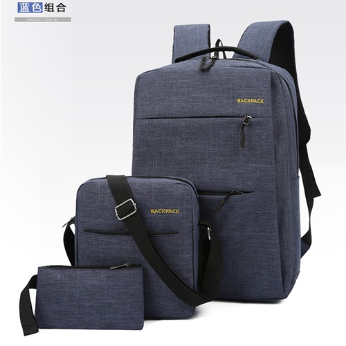 JT083 (3IN1) IDR.160.000  MATERIAL OXFORD SIZE L28XH45XW15CM WEIGHT 650GR COLOR BLUE