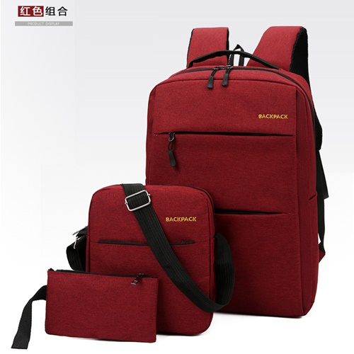JT083 (3IN1) IDR.160.000  MATERIAL OXFORD SIZE L28XH45XW15CM WEIGHT 650GR COLOR RED