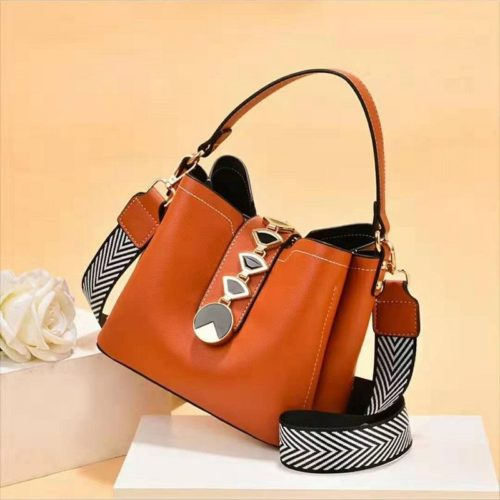 JT0880-brown Tas Handbag Selempang Wanita Modis Kekinian