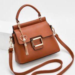 JT0896-brown Tas Selempang Import Elegan Wanita Cantik