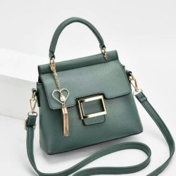 JT0896-green Tas Selempang Import Elegan Wanita Cantik