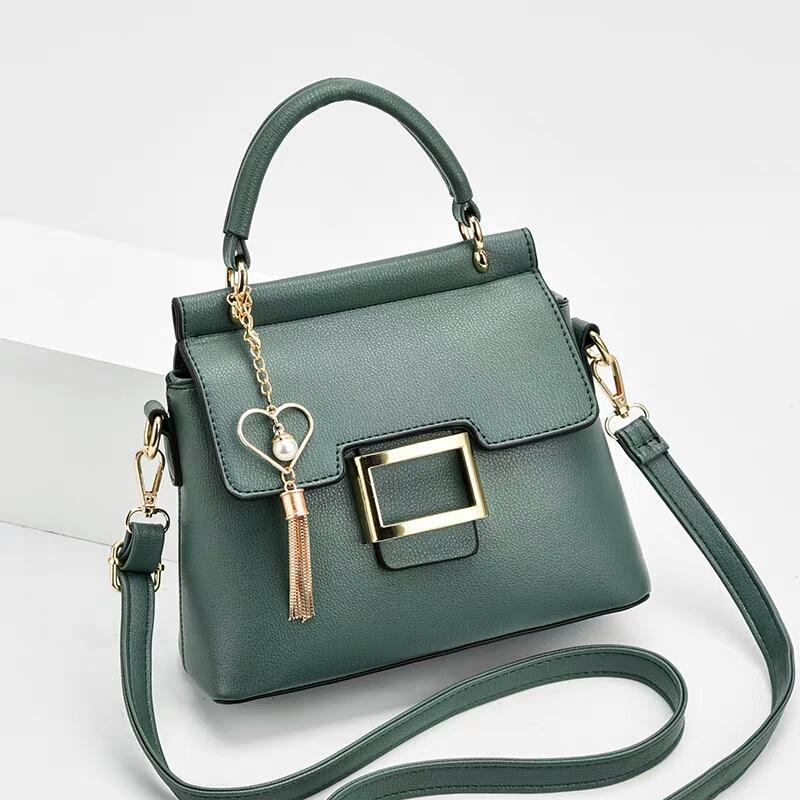 JT0896 IDR.166.000 MATERIAL PU SIZE L22XH19XW10CM WEIGHT COLOR GREEN
