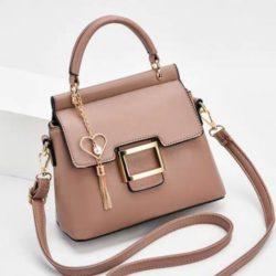 JT0896-pink Tas Selempang Import Elegan Wanita Cantik