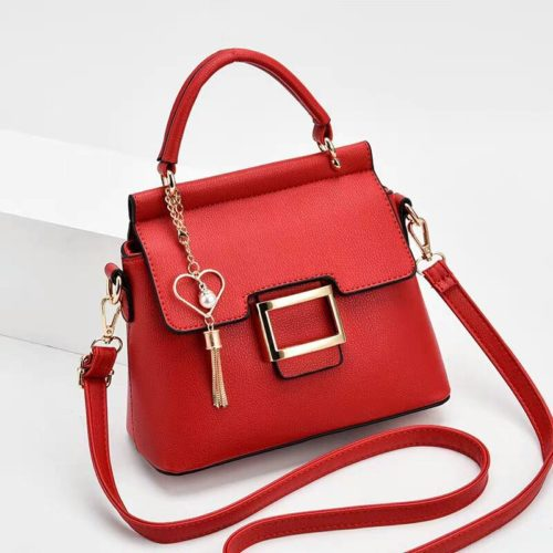 JT0896-red Tas Selempang Import Elegan Wanita Cantik