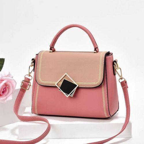 JT0898-pink Tas Selempang Pesta Wanita Modis Import