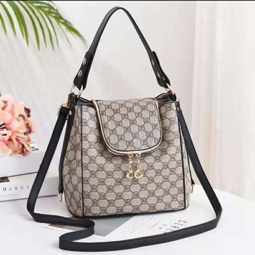 JT0906-gdblack Tas Selempang Wanita Trendy Fashion Import Terbaru