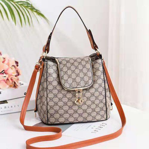 JT0906-gdbrown Tas Selempang Wanita Trendy Fashion Import Terbaru