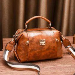 JT09318-brown Tas Selempang Wanita Elegan Import