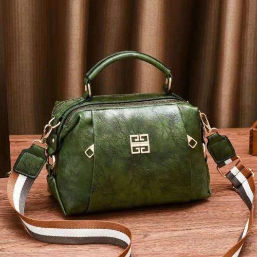 JT09318-green Tas Selempang Wanita Elegan Import