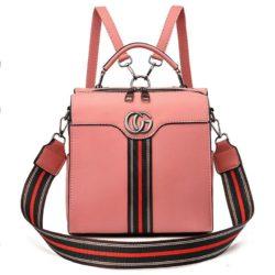 JT0939-pink Tas Ransel Import Wanita Cantik Terbaru