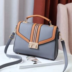 JT0961-gray Tas Handbag Fashion Wanita Cantik Import