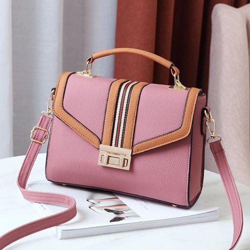 JT0961-pink Tas Handbag Fashion Wanita Cantik Import
