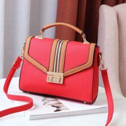 JT0961-red Tas Handbag Fashion Wanita Cantik Import