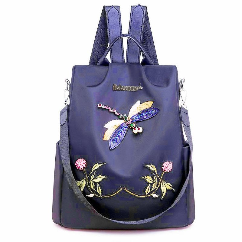 JT1000 IDR.167.000 MATERIAL NYLON SIZE L32XH33XW13CM WEIGHT 500GR COLOR BLUE