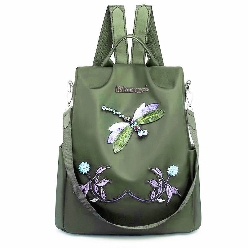JT1000 IDR.167.000 MATERIAL NYLON SIZE L32XH33XW13CM WEIGHT 500GR COLOR GREEN