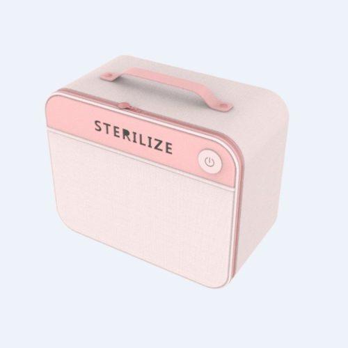 JT10002-pink Tas LED UV Sterilizer (dengan kotak
