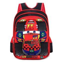 JT1006A-red Tas Ransel Sekolah Anak Import