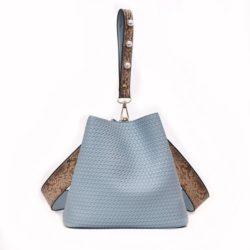 JT10146-blue 2in1 Pingo Bag Tas Kekinian Import Cantik