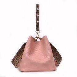 JT10146-pink 2in1 Pingo Bag Tas Kekinian Import Cantik