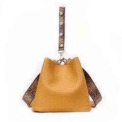 JT10146-yellow 2in1 Pingo Bag Tas Kekinian Import Cantik