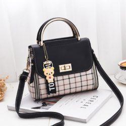 JT1024-black Tas Selempang Fashion Wanita Cantik Elegan