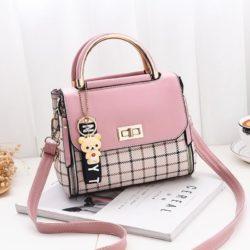 JT1024-pink Tas Selempang Fashion Wanita Cantik Elegan