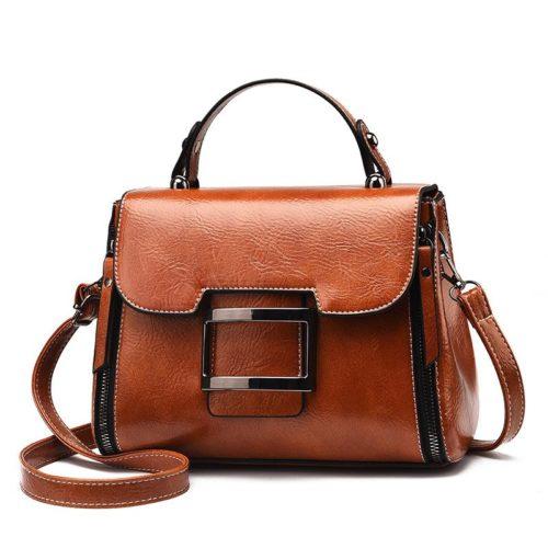 JT1029-brown Tas Handbag Wanita Cantik Import Terbaru