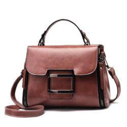 JT1029-darkpink Tas Handbag Wanita Cantik Import Terbaru