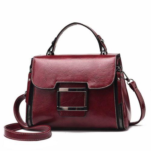 JT1029-red Tas Handbag Wanita Cantik Import Terbaru