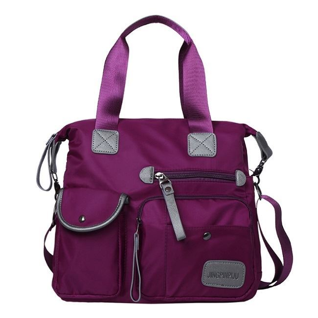 JT103 IDR.154.000 MATERIAL NYLON SIZE L34X30XW13CM WEIGHT 650GR COLOR PURPLE