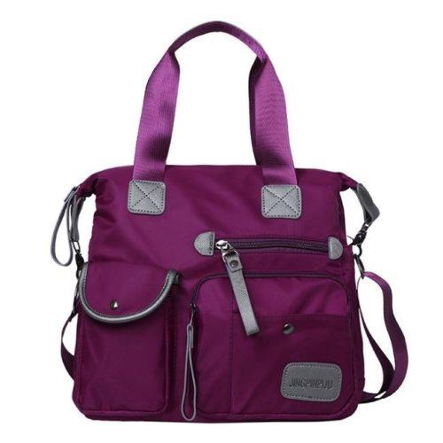JT103-purple Tas Handbag Import Terbaru