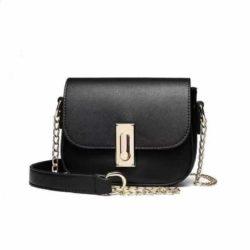 JT10471-black Tas Sling Bag Wanita Cantik Kekinian Terbaru