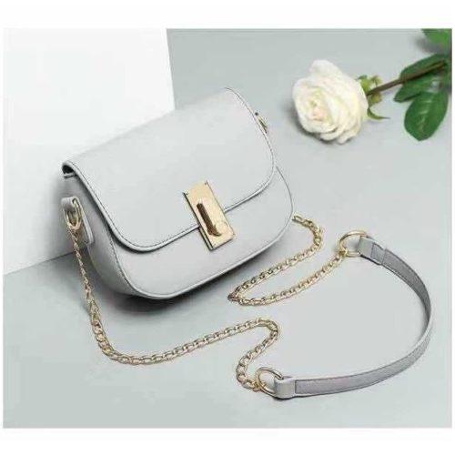 JT10471-gray Tas Sling Bag Wanita Cantik Kekinian Terbaru
