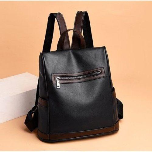 JT1051-black Tas Ransel Wanita Stylish Kekinian Import