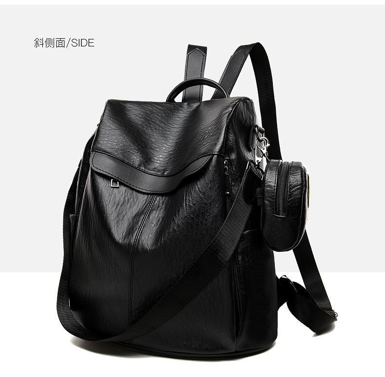 JT1064 (2IN1) IDR.172.000 MATERIAL PU SIZE L32XH37XW15CM WEIGHT 700GR COLOR BLACK