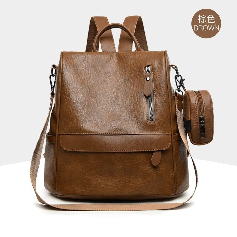 JT1065 (2IN1) IDR.169.000 MATERIAL PU SIZE L29XH30XW15CM WEIGHT 650GR COLOR BROWN