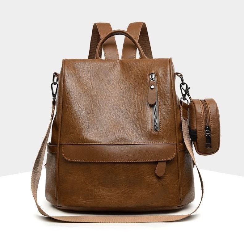 JT1065 (2IN1) IDR.172.000 MATERIAL PU SIZE L29XH30XW15CM WEIGHT 650GR COLOR BROWN