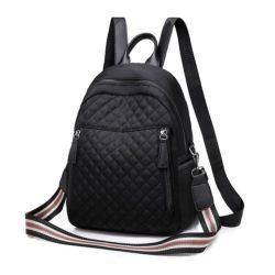 JT1078-black Tas Ransel Fashion Cantik Terbaru Bisa Selempang