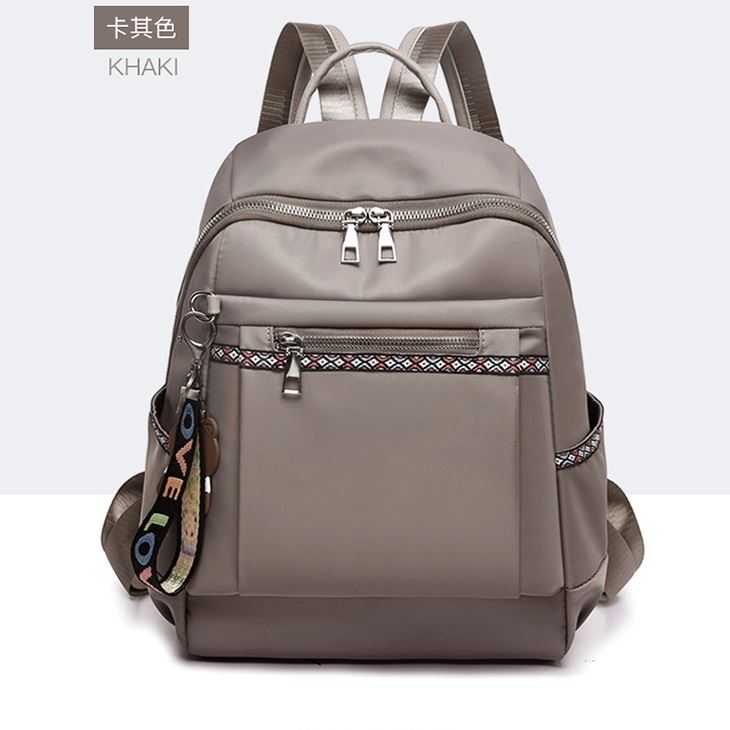 JT1079 IDR.152.000 MATERIAL OXFORD SIZE L26XH34XW13CM WEIGHT 500GR COLOR GRAY
