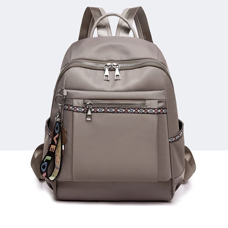 JT1079 IDR.163.000 MATERIAL OXFORD SIZE L26XH34XW13CM WEIGHT 400GR COLOR GRAY