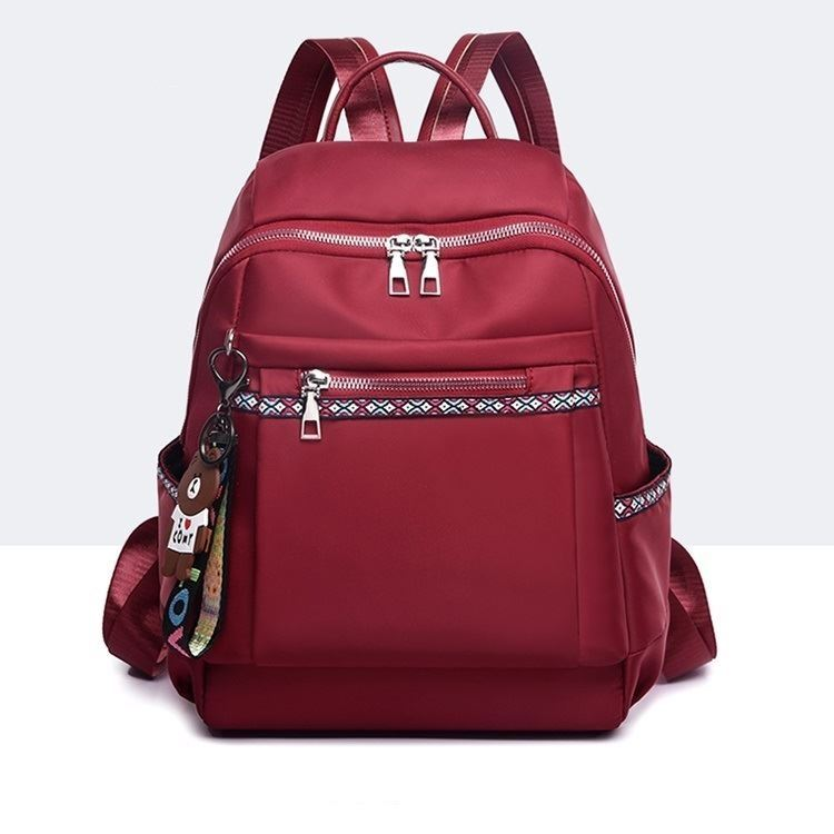 JT1079 IDR.163.000 MATERIAL OXFORD SIZE L26XH34XW13CM WEIGHT 400GR COLOR RED