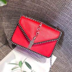 JT1095-red Tas Selempang Fashion Elegan Terbaru