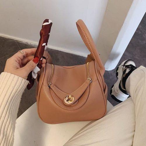 JT10951-pink Tas Handbag Cantik Import Wanita Tali Selempang