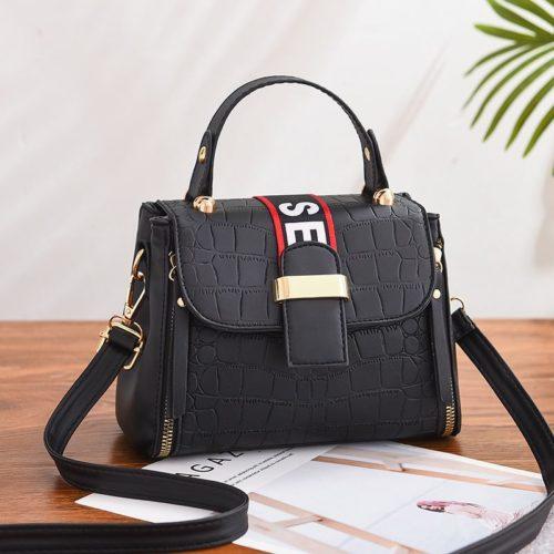 JT11071-black Tas Handbag Selempang Wanita Cantik Elegan