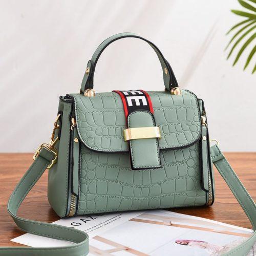 JT11071-green Tas Handbag Selempang Wanita Cantik Elegan