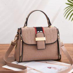 JT11071-khaki Tas Handbag Selempang Wanita Cantik Elegan