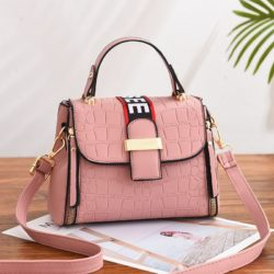 JT11071-pink Tas Handbag Selempang Wanita Cantik Elegan